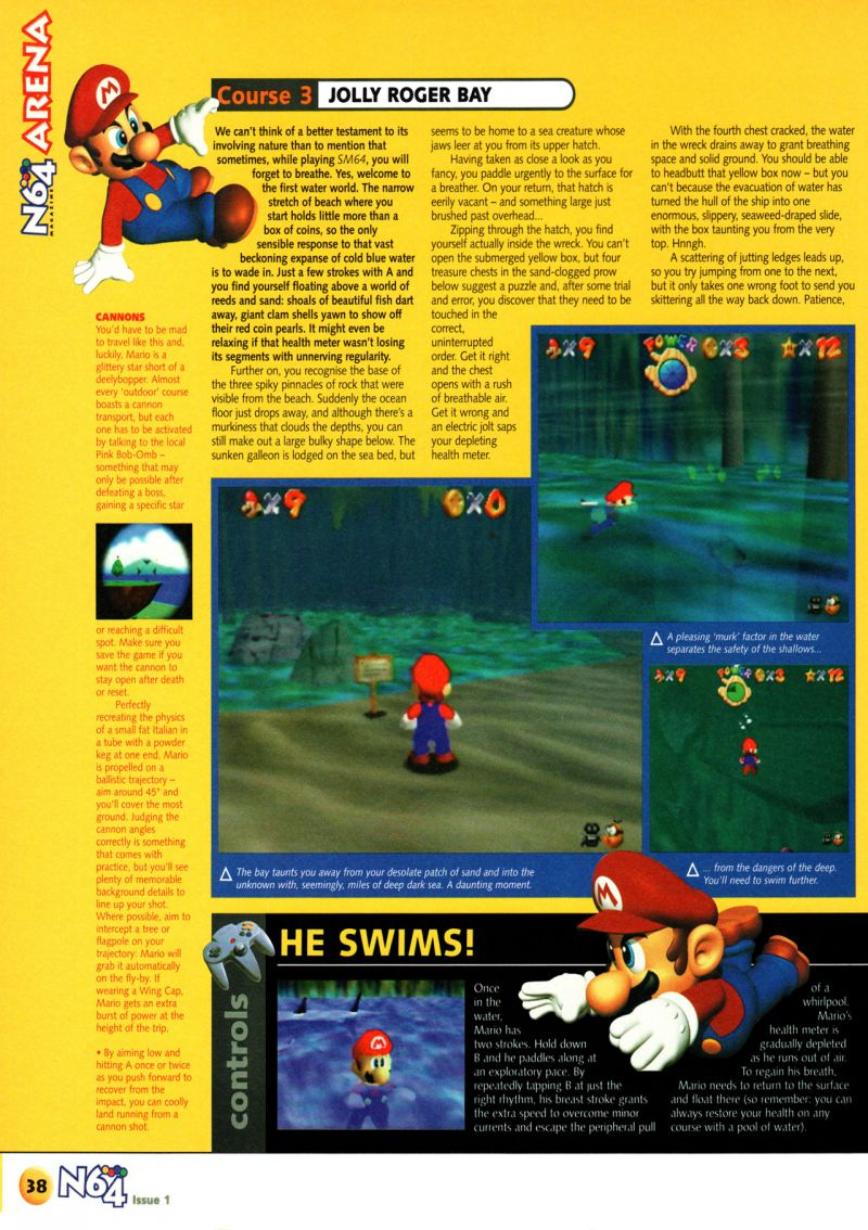 Nintendo64EVER - The tests of Super Mario 64 game on Nintendo 64