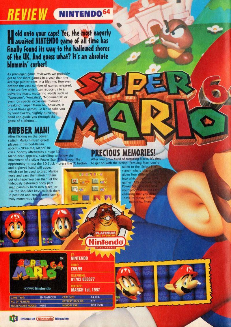 Nintendo64EVER - The Nintendo Official Magazine 54 magazine content