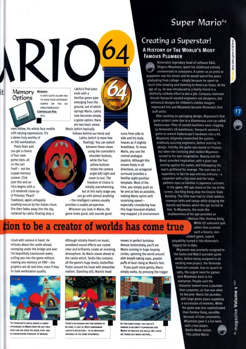 Nintendo 64 Sound Effects