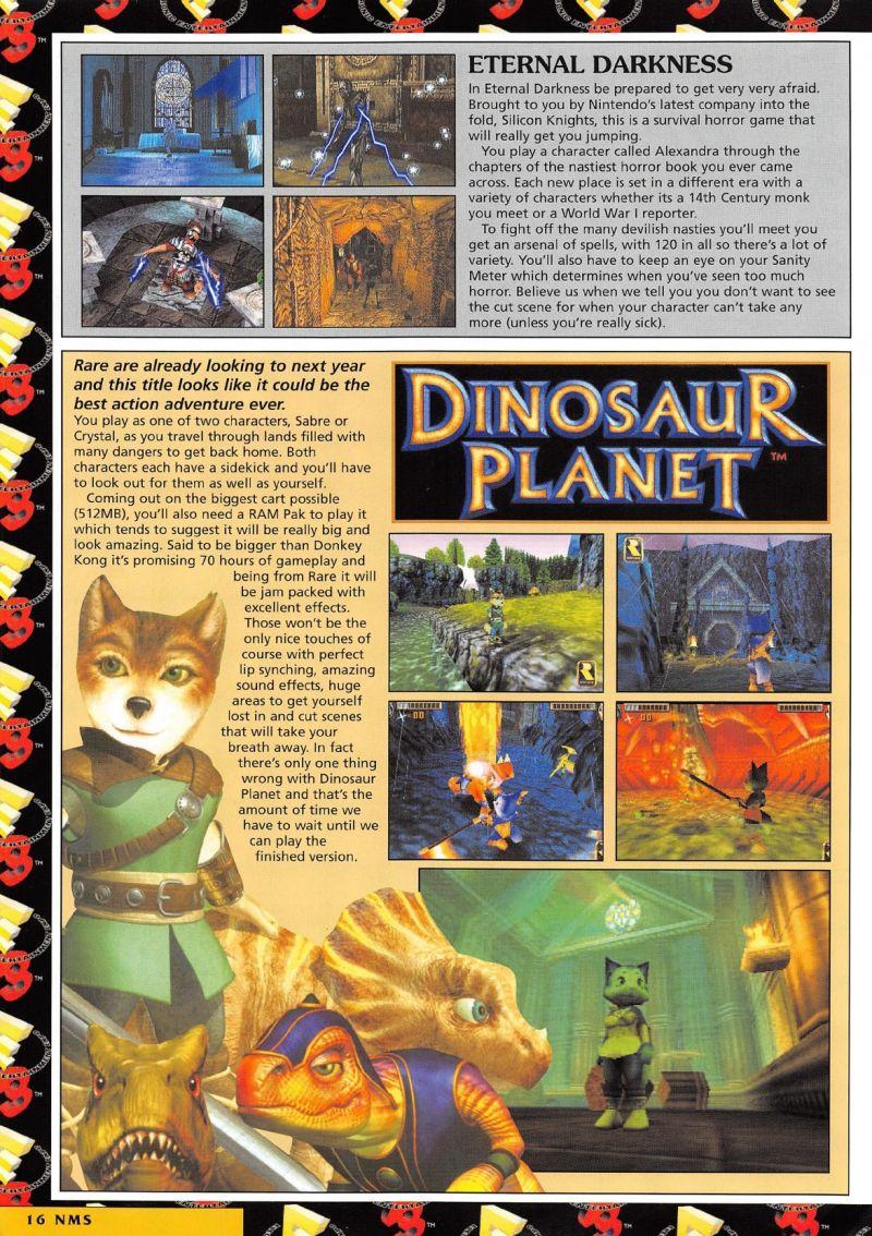 Fox Body Wheels >> Nintendo64EVER - Dinosaur Planet, Nintendo 64 unreleased game