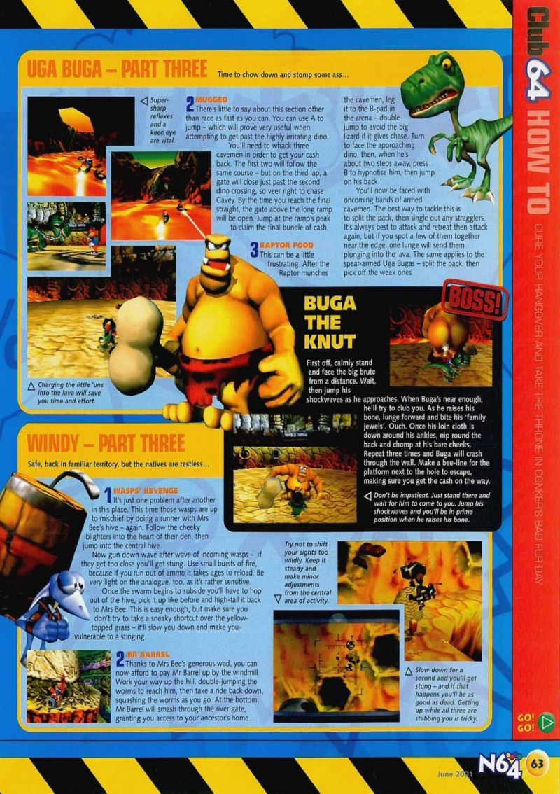 Nintendo64EVER - The walkthroughs for the game Conker's Bad Fur Day