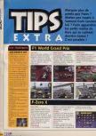 Scan of the walkthrough of F-1 World Grand Prix published in the magazine X64 HS3