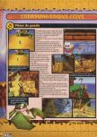 Scan of the walkthrough of Banjo-Kazooie published in the magazine X64 HS3