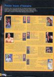Scan of the walkthrough of WWF War Zone published in the magazine X64 HS03, page 7
