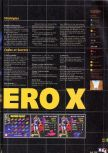 Scan of the walkthrough of F-Zero X published in the magazine X64 HS03, page 2