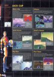 Scan of the walkthrough of F-Zero X published in the magazine X64 HS3