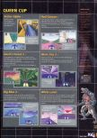 Scan of the walkthrough of F-Zero X published in the magazine X64 HS03, page 4