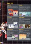 Scan of the walkthrough of F-Zero X published in the magazine X64 HS03, page 5