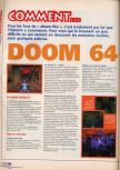 Scan of the walkthrough of Doom 64 published in the magazine X64 HS3