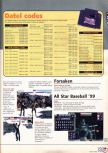 Scan of the walkthrough of All-Star Baseball '99 published in the magazine X64 HS3