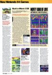 Scan of the review of Bust-A-Move 3 DX published in the magazine Arcade 02