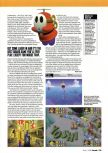 Scan of the review of Mario Party published in the magazine Arcade 04