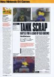 Scan of the review of Chameleon Twist 2 published in the magazine Arcade 06