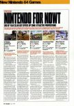 Scan of the review of Mario Kart 64 published in the magazine Arcade 08