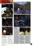 Scan of the preview of Perfect Dark published in the magazine Arcade 08