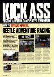 Scan of the walkthrough of  published in the magazine Arcade 08, page 1