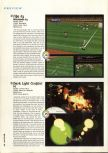 Scan of the preview of FIFA 64 published in the magazine Hyper 43