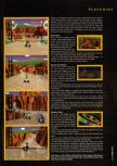 Scan of the walkthrough of Mario Kart 64 published in the magazine Hyper 46
