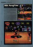 Scan of the review of NBA Hangtime published in the magazine Hyper 48, page 1
