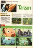 Scan of the review of Tarzan published in the magazine Player One 102