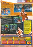 Scan of the review of Knockout Kings 2000 published in the magazine Le Magazine Officiel Nintendo 20