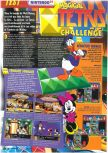 Scan of the review of Magical Tetris Challenge published in the magazine Le Magazine Officiel Nintendo 20