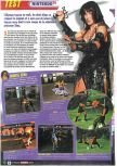 Scan of the review of Xena: Warrior Princess: The Talisman of Fate published in the magazine Le Magazine Officiel Nintendo 21