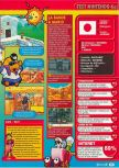 Scan of the review of Paper Mario published in the magazine Consoles + 105, page 2