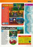 Scan of the preview of Scooby Doo! Classic Creep Capers published in the magazine Consoles + 105
