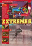Scan of the review of Extreme-G published in the magazine Consoles + 069