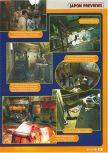 Scan of the preview of Resident Evil 2 published in the magazine Consoles + 069