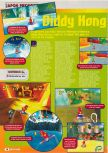 Scan of the preview of Diddy Kong Racing published in the magazine Consoles + 069