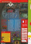 Scan of the review of Bio F.R.E.A.K.S. published in the magazine Consoles + 078