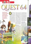 Scan of the review of Holy Magic Century published in the magazine Consoles + 079, page 1