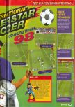 Scan of the review of International Superstar Soccer 64 published in the magazine Consoles + 080, page 2