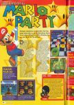 Scan of the review of Mario Party published in the magazine Consoles + 085