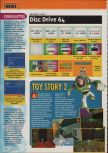 Scan of the preview of Toy Story 2 published in the magazine Consoles + 096