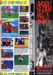 Scan of the preview of Super Mario 64 published in the magazine Computer and Video Games 176