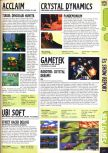 Scan of the preview of Robotech: Crystal Dreams published in the magazine Computer and Video Games 176
