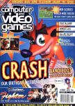 Scan de la couverture du magazine Computer and Video Games  180