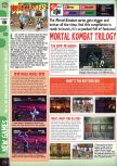 Scan of the preview of Mortal Kombat Trilogy published in the magazine Computer and Video Games 180