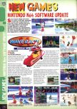Scan of the preview of Wave Race 64 published in the magazine Computer and Video Games 180