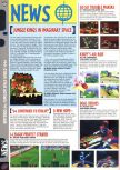 Scan of the preview of Kirby's Air Ride published in the magazine Computer and Video Games 182, page 1