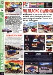 Scan of the preview of Multi Racing Championship published in the magazine Computer and Video Games 183