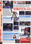 Scan of the preview of Robotech: Crystal Dreams published in the magazine Computer and Video Games 184