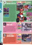 Scan of the review of Mario Kart 64 published in the magazine Computer and Video Games 184