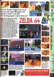 Scan of the preview of The Legend Of Zelda: Ocarina Of Time published in the magazine Computer and Video Games 186