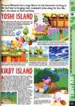 Scan of the preview of Kirby's Air Ride published in the magazine Computer and Video Games 186, page 1
