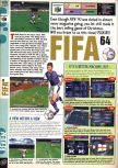Scan of the review of FIFA 64 published in the magazine Computer and Video Games 187