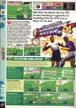 Scan of the review of International Superstar Soccer 64 published in the magazine Computer and Video Games 187, page 1
